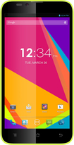 Blu - Dash 5.5 4G Cell Phone (Unlocked) - Yellow