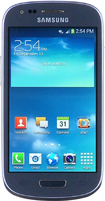 Samsung - Galaxy S III Mini 4G Cell Phone (Unlocked) - Blue
