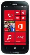 Nokia - Lumia 822 Unlocked GSM 4G LTE Cell Phone (Verizon Wireless) - Pre-Owned - Black
