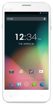 Blu - Dash 5.0+ 4G Cell Phone (Unlocked) - White