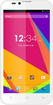 Blu - Dash 5.5 4G Cell Phone (Unlocked) - White