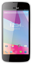 Blu - Neo 4.5 4G Cell Phone (Unlocked) - White/Black