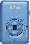 Nikon - Coolpix S02 13.2-Megapixel Digital Camera - Blue