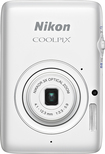 Nikon - Coolpix S02 13.2-Megapixel Digital Camera - White