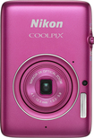 Nikon - Coolpix S02 13.2-Megapixel Digital Camera - Pink