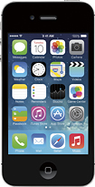 Apple - iPhone 4s 8GB Cell Phone - Black (Verizon Wireless)