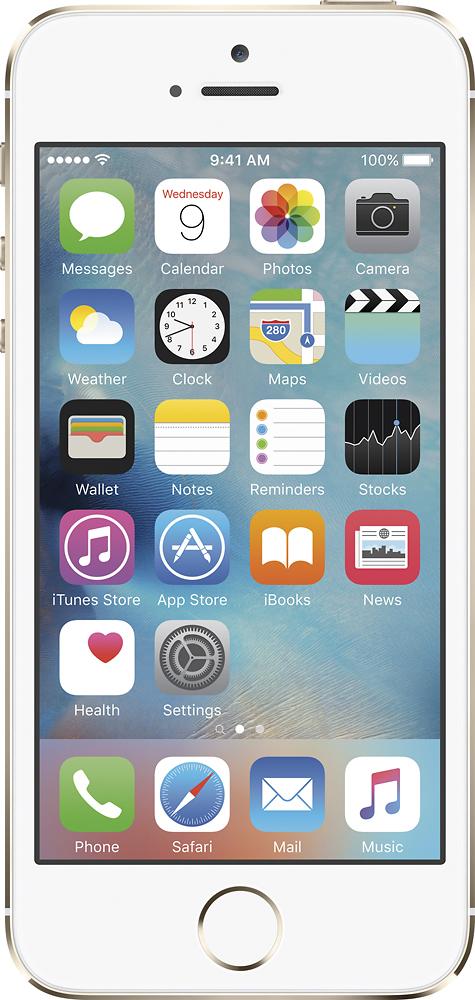 Apple - iPhone 5s 32GB Cell Phone - Gold (Verizon Wireless)