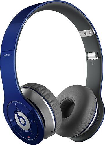 Beats by Dr. Dre - Beats Wireless On-Ear Headphones - Blue
