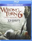 Wrong Turn 6: Last Resort [unrated] [blu-ray] 1765032