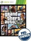 Grand Theft Auto V - PRE-OWNED - Xbox 360