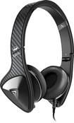 Monster - DNA On-Ear Headphones - Black Carbon Fiber