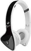 Monster - DNA On-Ear Headphones - Black Tuxedo