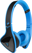 Monster - DNA On-Ear Headphones - Black/Laser Blue