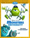 Monsters University [4 Discs] [includes Digital Copy] [3d] [blu-ray/dvd] 1766374