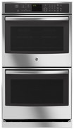 "GE - Profile Series 30"" Built-In Double Electric Convection Wall Oven - Stainless-Steel"
