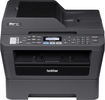 Brother - Network-Ready Wireless Black-and-White Laser Printer