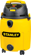 Stanley - PRO Poly 10 Gal. Wet/Dry Vacuum - Yellow