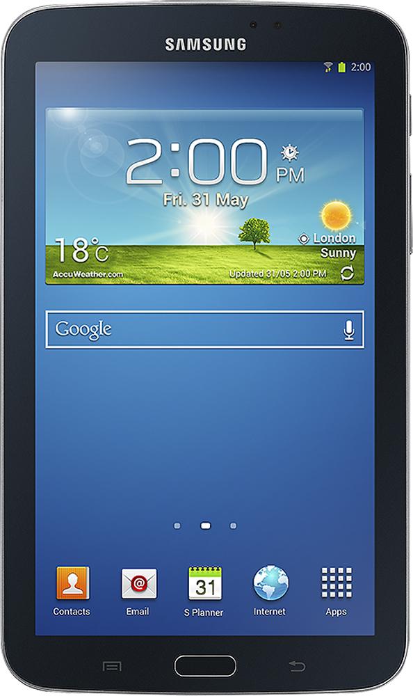 "Samsung - Galaxy Tab 3 - 7"" - 8GB - Black"