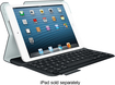 Logitech - Ultrathin Keyboard Folio Case for Apple® iPad® mini, iPad mini 2 and iPad mini 3 - Carbon Black