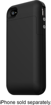 mophie - Juice Pack Plus for Apple® iPhone® 4 - Black