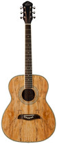 Oscar Schmidt - 6-String Folk-Style Acoustic Guitar - Maple