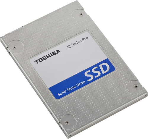 Toshiba HDTS312XZSTA Q Series Pro 128GB Internal SATA III Solid State Drive for Laptops Multi