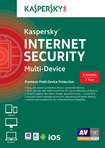 Kaspersky Internet Security Multi-Device (3-User) (1-Year Subscription) - Mac|Windows