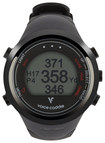 Voice Caddie - T1 Hybrid Golf GPS Watch - Black