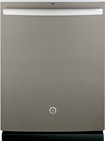 "GE - 24"" Tall Tub Built-In Dishwasher - Slate"