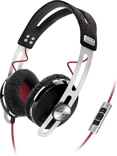 Sennheiser - MOMENTUM On-Ear Headphones - Black