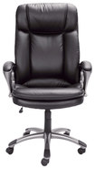 Serta - Big & Tall Executive Chair - Black