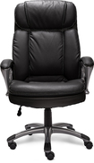 Serta - Big & Tall Executive Chair - Black