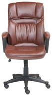 Serta - Executive Office Chair - Cognac Brown