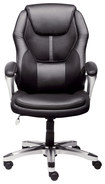 Serta - Executive Office Chair - Black
