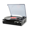 Jensen - 3-Speed Stereo Turntable - Black