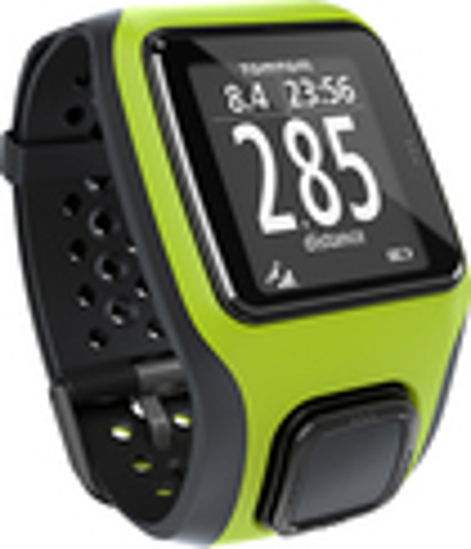 TomTom - Multi-Sport GPS Watch - Black/Green