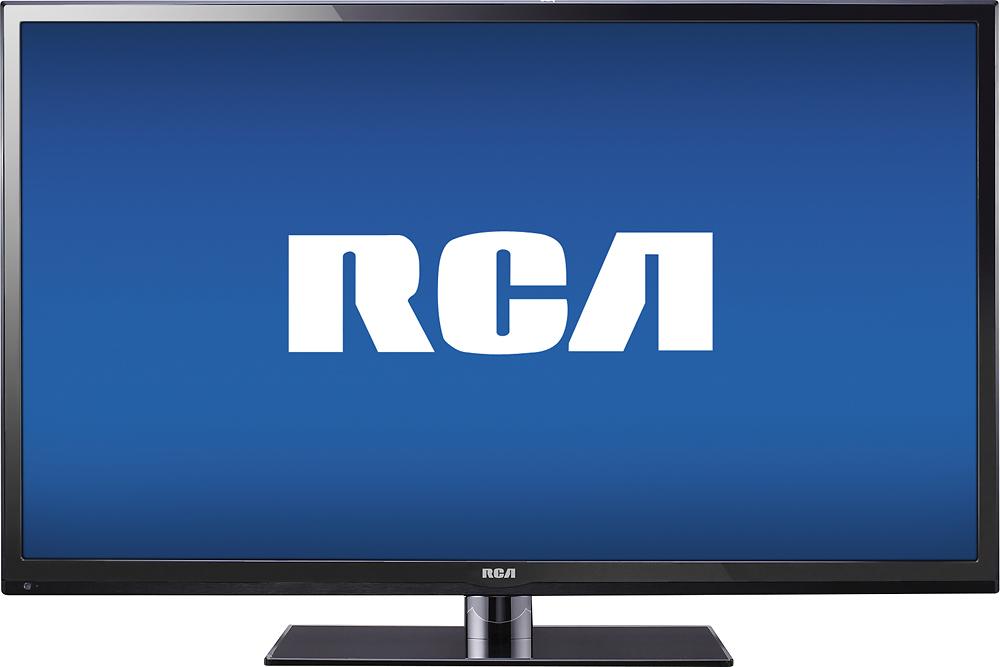 """RCA - 55"""" Class (54-5/8"""" Diag.) - LED - 1080p - HDTV - Black"""