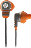 Yurbuds - Venture Duro Earbud Headphones - Orange/Gray