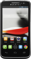 T-Mobile Prepaid - Alcatel ONETOUCH Evolve 3G No-Contract Cell Phone - Black