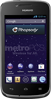 MetroPCS - Vitria No-Contract Cell Phone - Black
