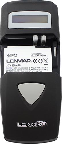 Lenmar - AC/DC Charger - Black