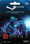 Valve - DOTA 2 Steam Wallet Card ($20)