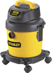 Stanley - 2-1/2 Gal. Portable Wet/Dry Vacuum - Yellow