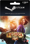 Valve - BioShock Infinite Steam Wallet Card ($39.99) - Multicolor