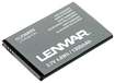 Lenmar - Lithium-Ion Battery for Samsung Intercept and Acclaim Mobile Phones - Gray