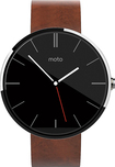 Motorola - Moto 360 22mm Smartwatch for Select Android Devices - Cognac