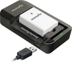DigiPower - Battery Charger - Black