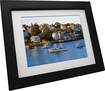 "VistaQuest - 8"" Digital Photo Frame - Espresso"