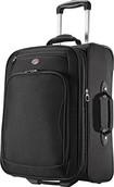 """American Tourister - Splash 2 25"""" Expandable Wheeled Upright Suitcase - Black"""
