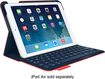 Logitech - Ultrathin Portfolio Keyboard Case for Apple® iPad® Air - Mars Red Orange